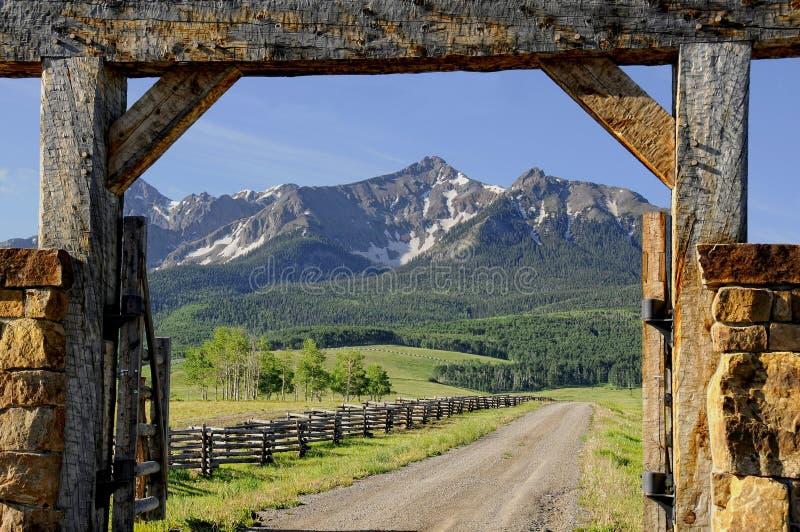 ранчо colorado стоковые изображения rf