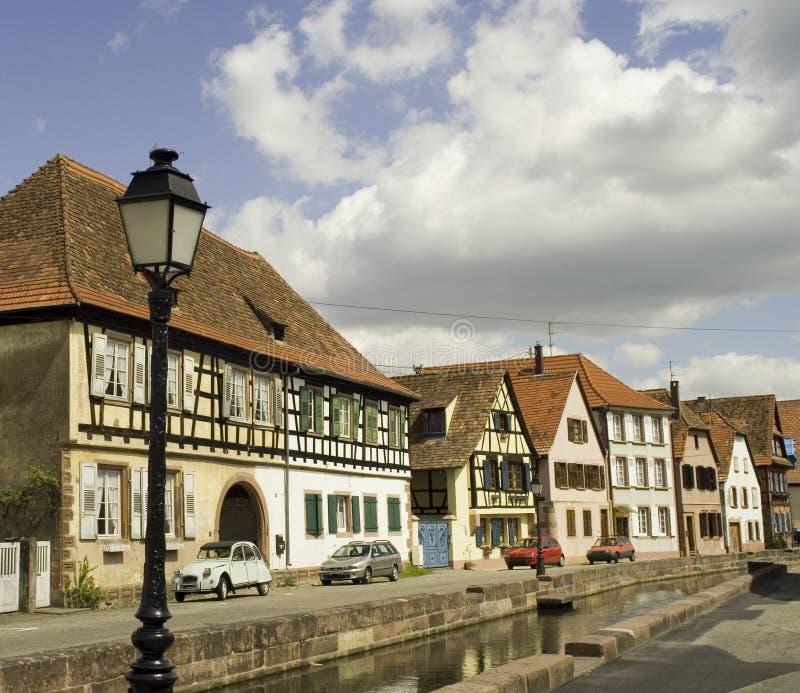расквартировывает wissembourg стоковые изображения