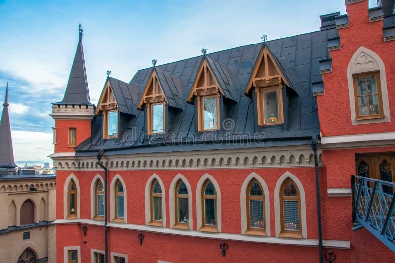 Расквартируйте Mikael Blomkvist, серию книг тысячелетия Stieg Larsson, Стокгольма, Швеции стоковые изображения