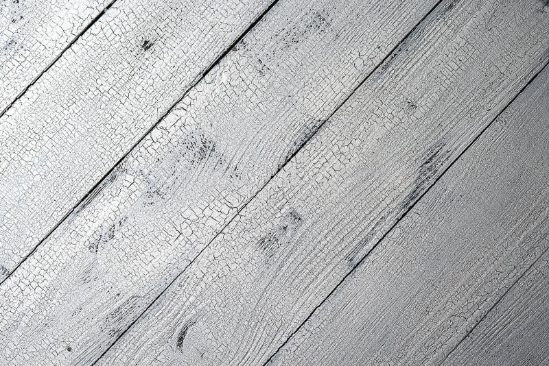 Раскосная белая достигшая возраста деревянная предпосылка стоковые изображения
