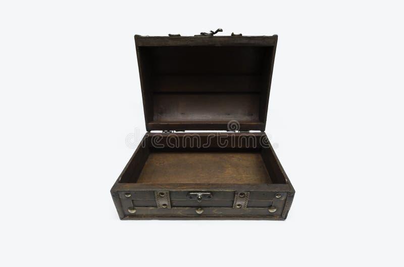 Раскройте деревянный комод стоковые фотографии rf