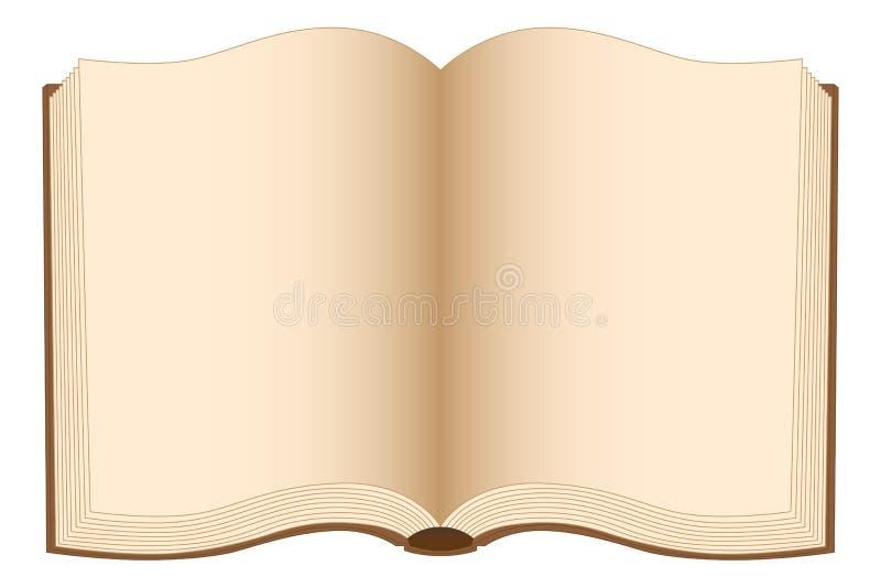 Раскройте книгу бесплатная иллюстрация