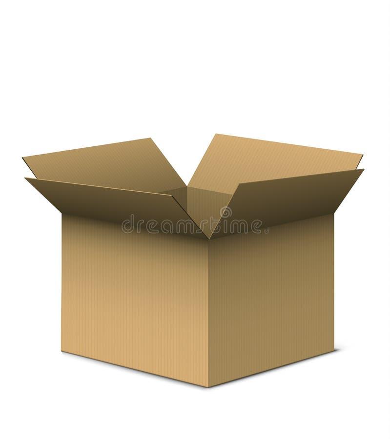 Раскройте коробку бесплатная иллюстрация