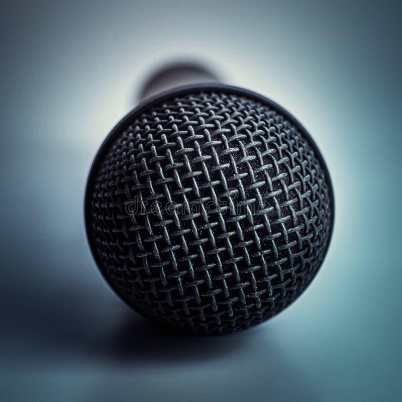 Раскройте mic стоковое изображение