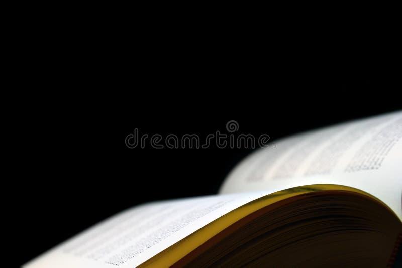 раскрытая книга стоковые фотографии rf