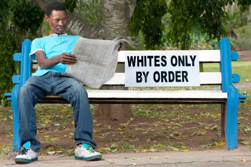 Расовая дискриминация стоковое фото