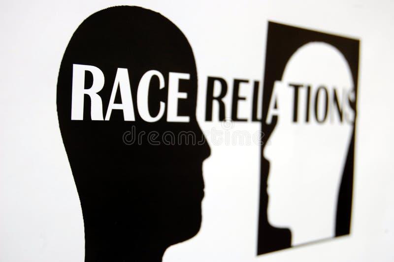 расовые отношения стоковое изображение