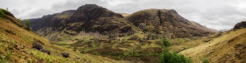 распадок Шотландия coe стоковые изображения rf