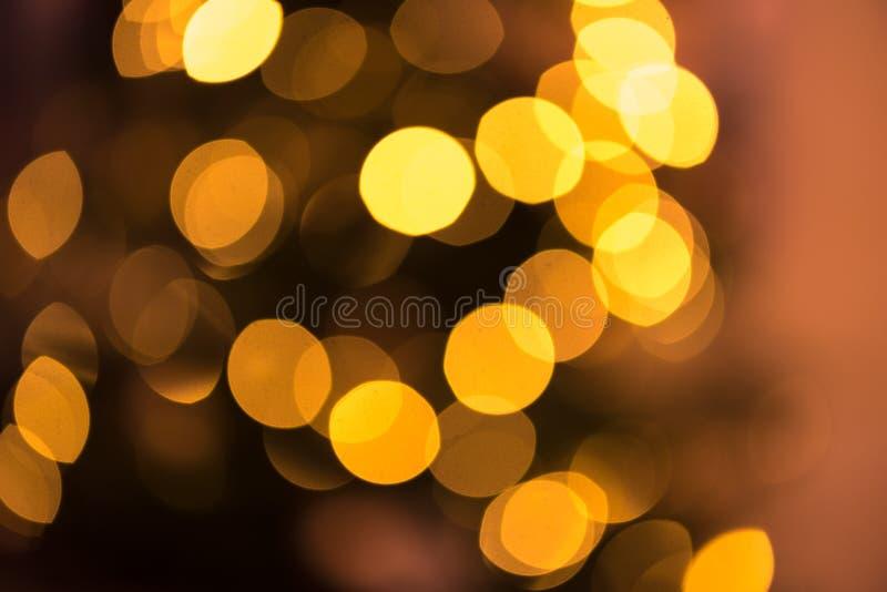 Расплывчатая предпосылка со светами точек пирофакела объектива стоковая фотография rf