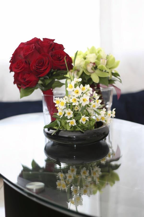 Расположение цветка стоковое фото rf