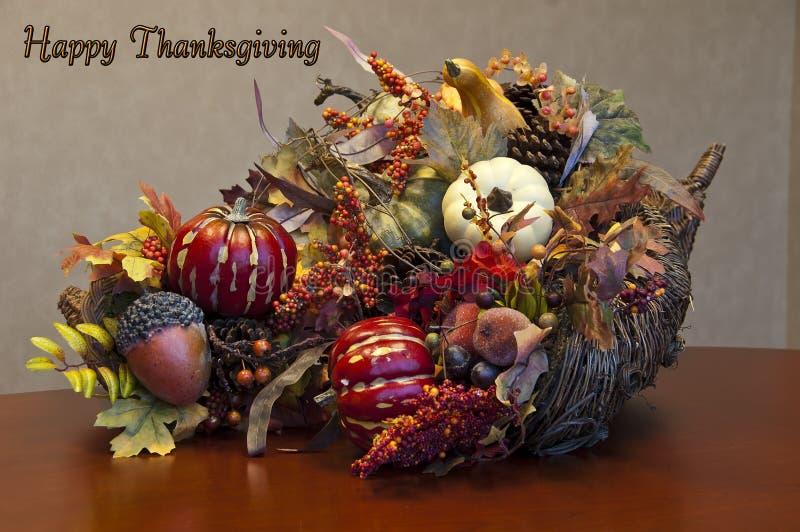 Расположение изобилия благодарения плюс знак стоковые изображения rf
