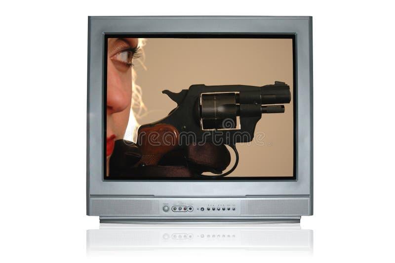 расправа tv 2 баллад стоковые фотографии rf