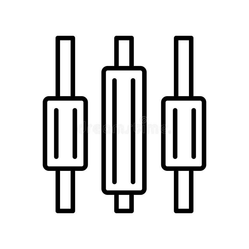 Распределите вектор значка изолированный на белой предпосылке, распределите иллюстрация штока