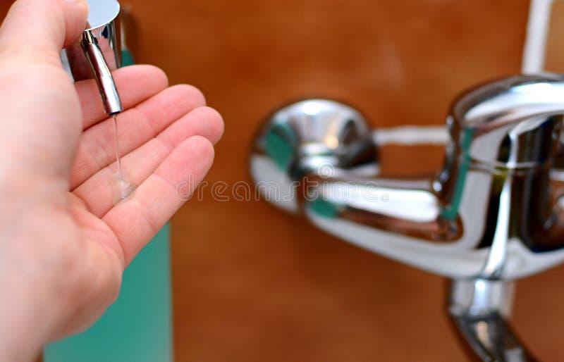 Распределять мыла стоковая фотография rf