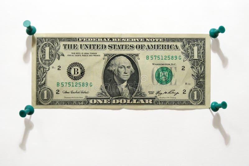 распянный доллар стоковые фотографии rf