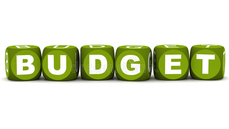 Бюджетя бесплатная иллюстрация