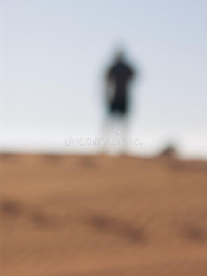 Расплывчатый силуэт стоковое изображение