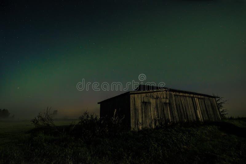 Рассветы лунного света стоковое изображение