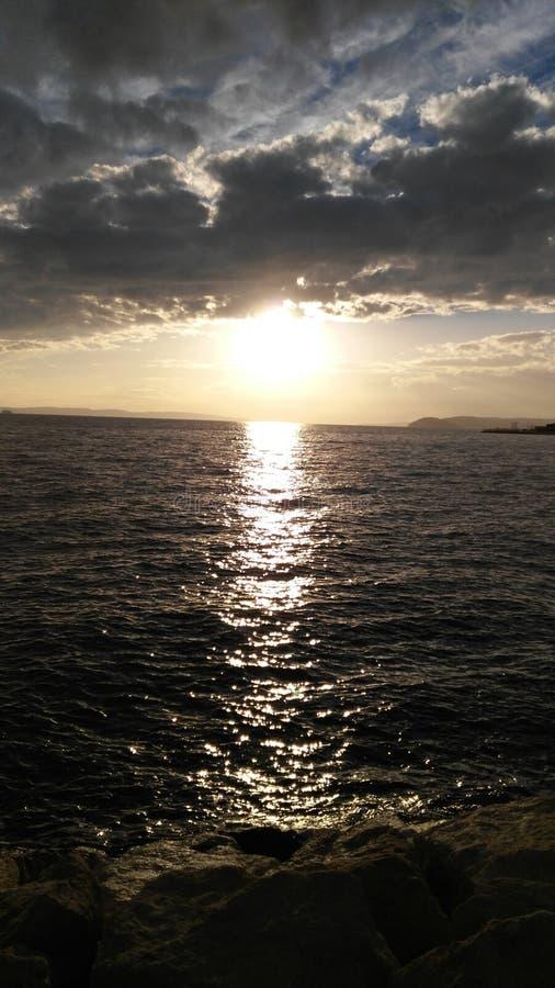 рассвет стоковое изображение rf