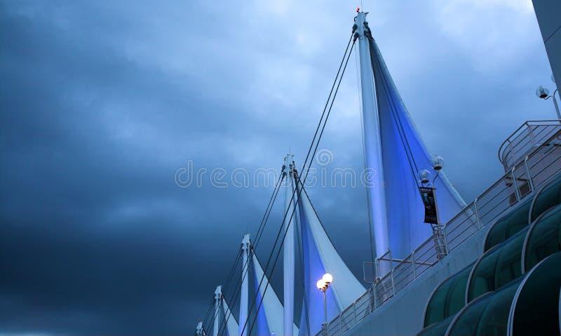 рассвет Vancouver Стоковое Изображение
