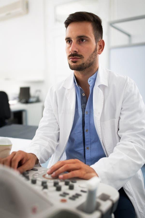 Рассмотрение клиники гинеколога стоковая фотография rf