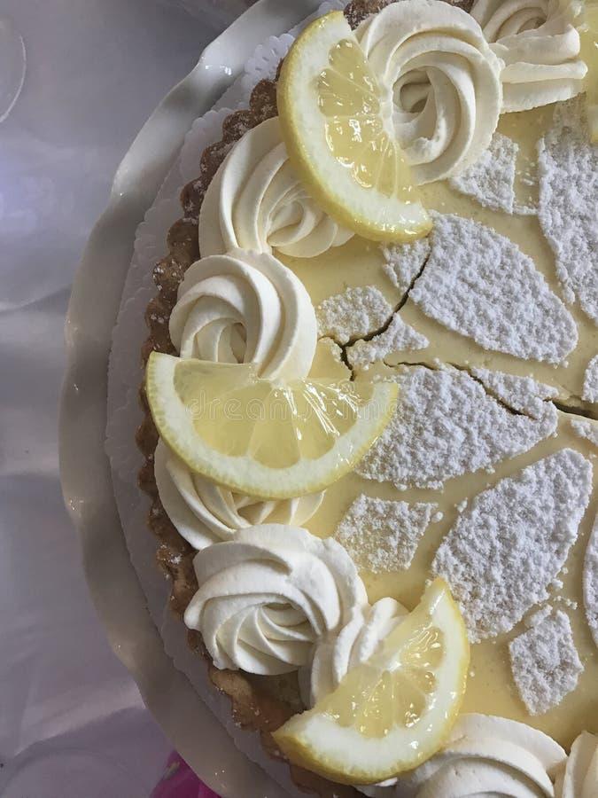 Расстегай лимона стоковая фотография rf