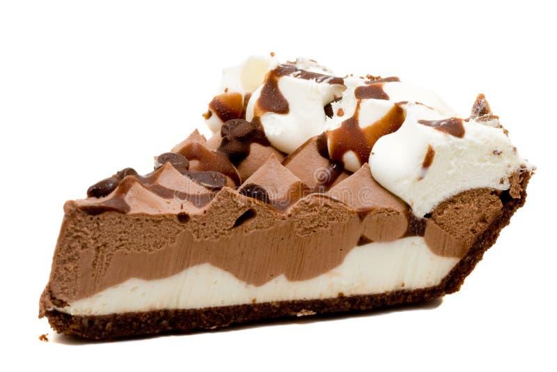 Расстегай шоколада Cream стоковое фото rf