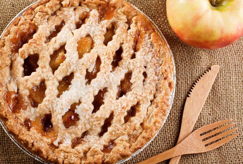 расстегай яблока деревенский стоковое фото