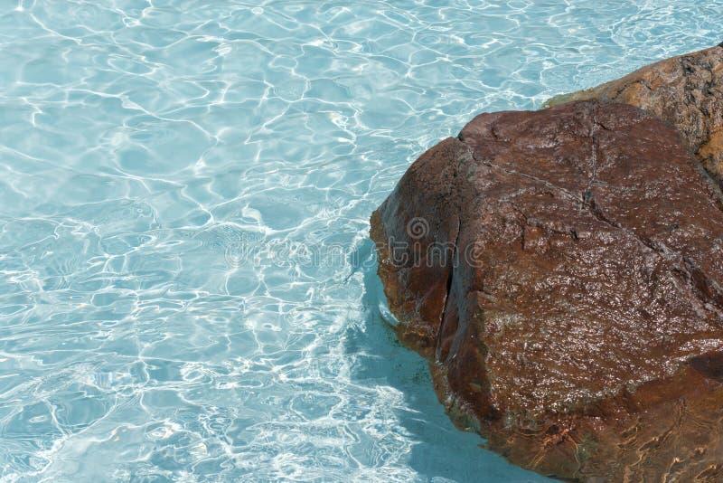 Расслабляющая предпосылка Poolside стоковые фото