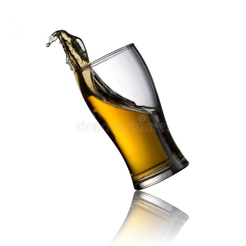Расслоина холодного пива стоковое изображение rf