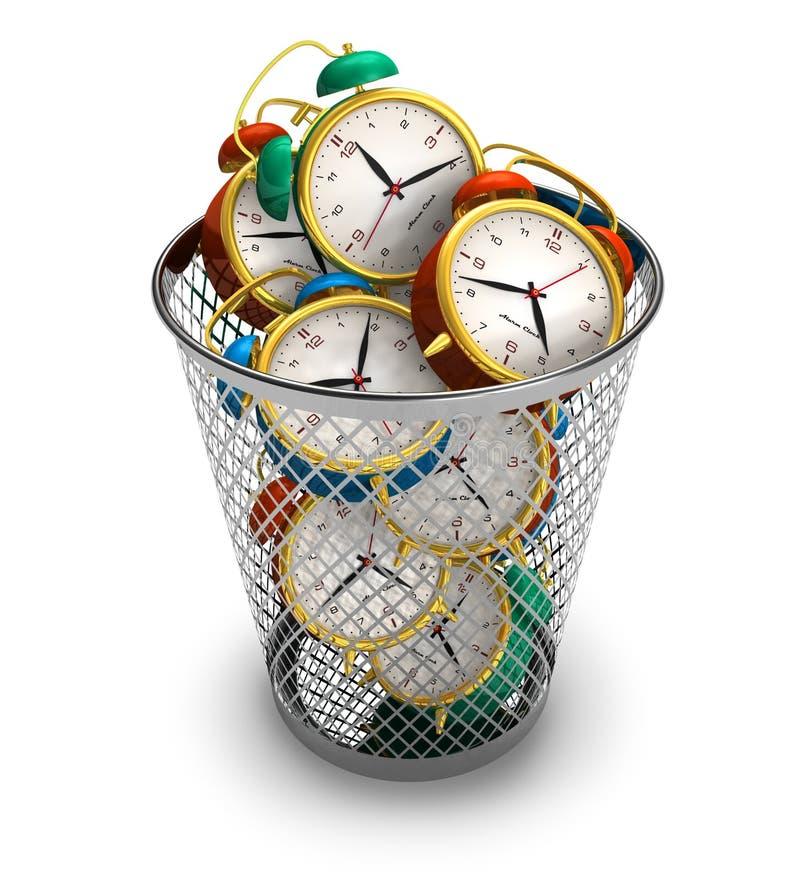 расточительствовать времени принципиальной схемы бесплатная иллюстрация