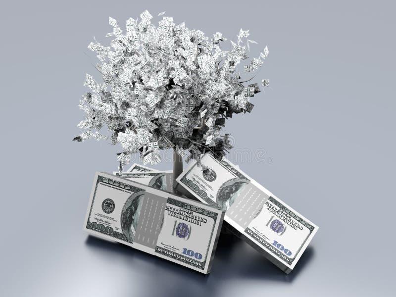 Растущие деньги бесплатная иллюстрация