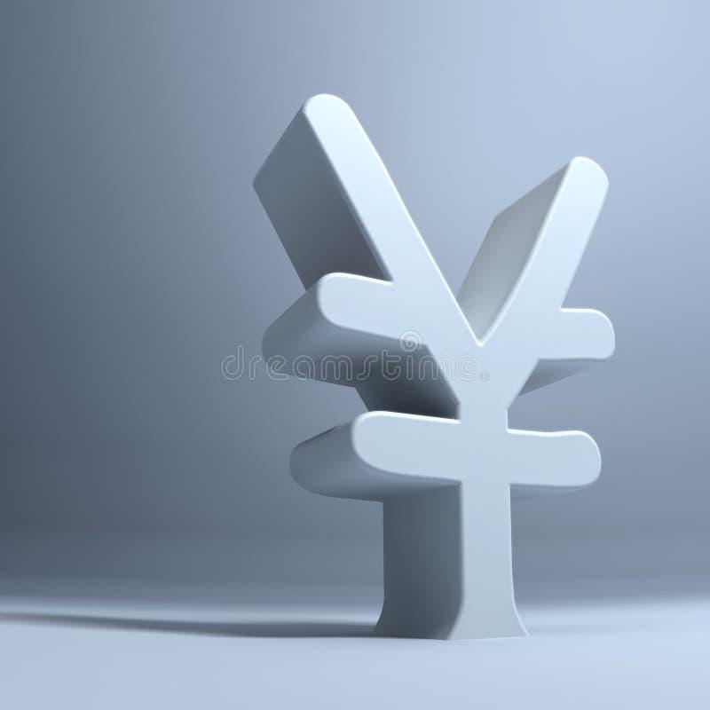 растущие иены иллюстрация вектора
