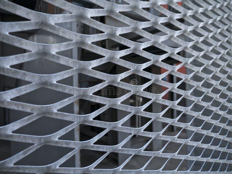Расширенный металл стоковая фотография
