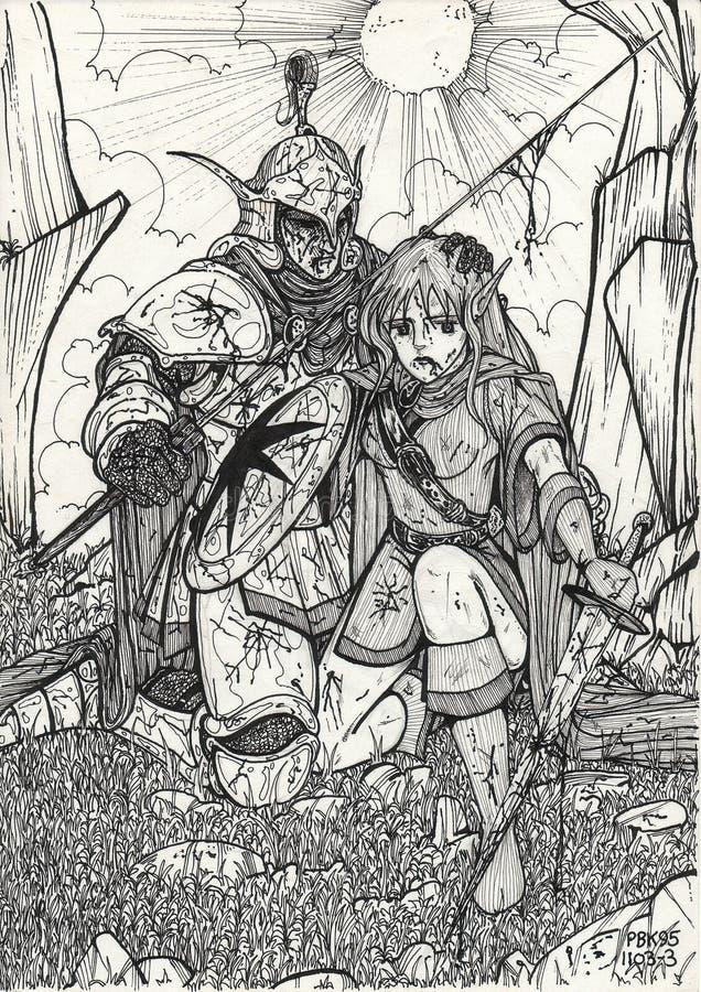 ратники бесплатная иллюстрация