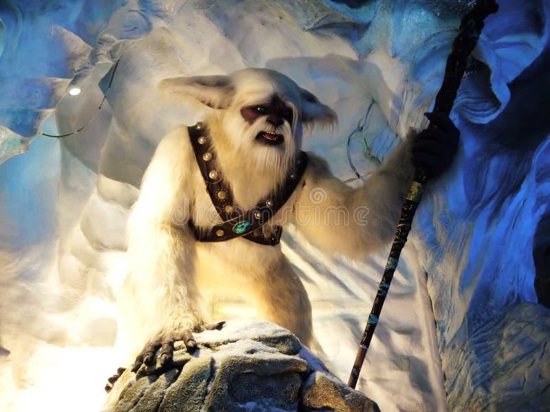 Ратник снежного человека стоковая фотография