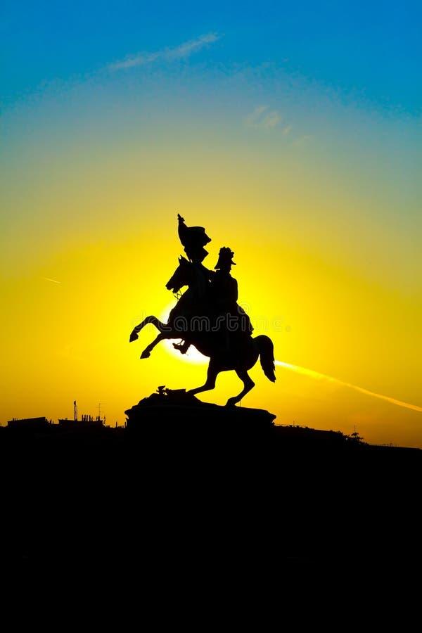ратник статуи стоковая фотография rf