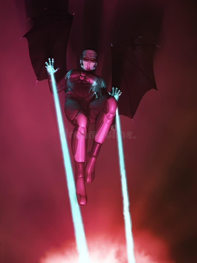 ратник темноты ангела бесплатная иллюстрация