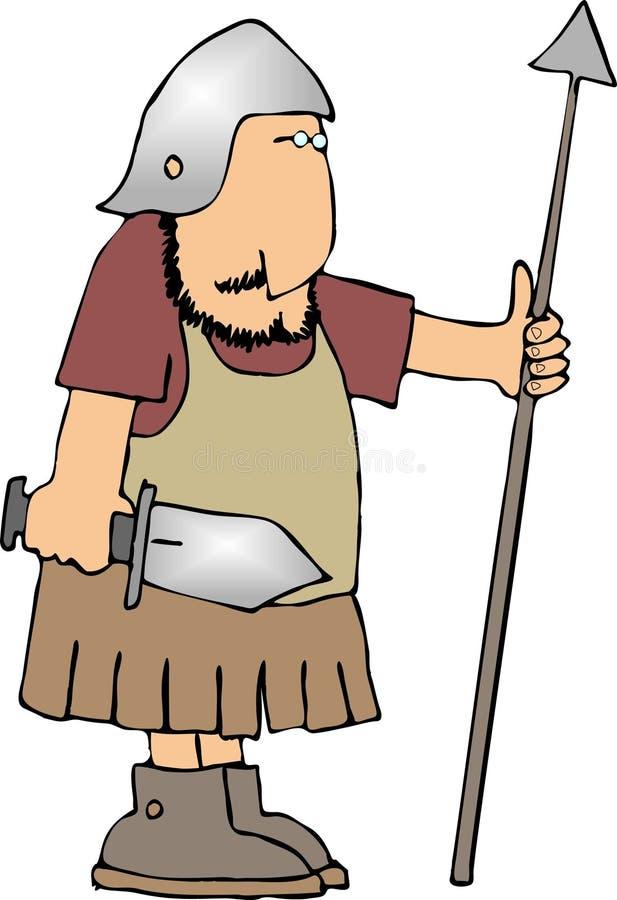 ратник шпаги копья бесплатная иллюстрация