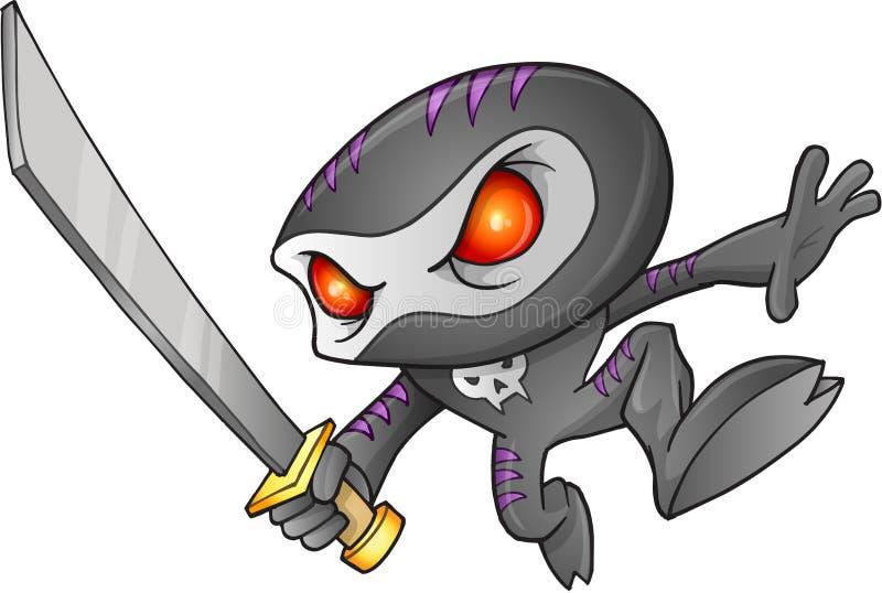 Ратник Ninja бесплатная иллюстрация