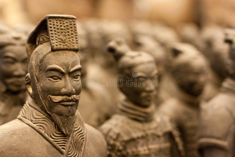 Ратник Terracotta стоковые фото