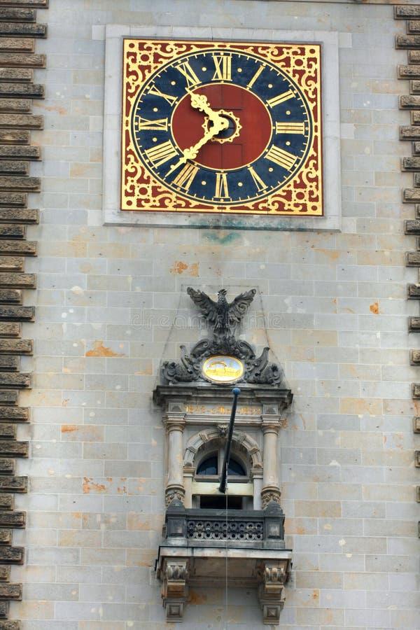 Ратуша Гамбурга и место парламента Гамбурга стоковые фотографии rf