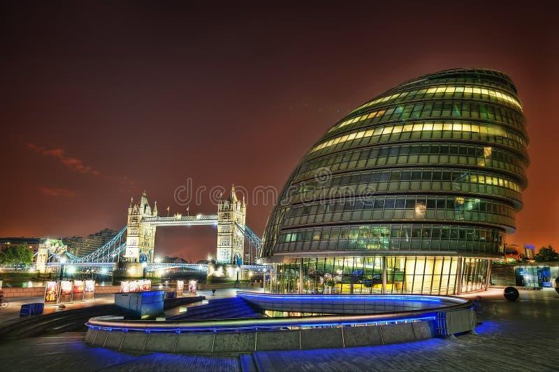 Ратуша Лондона стоковое изображение