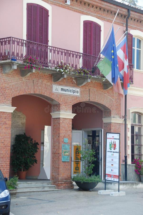 Ратуша Barbaresco стоковое фото
