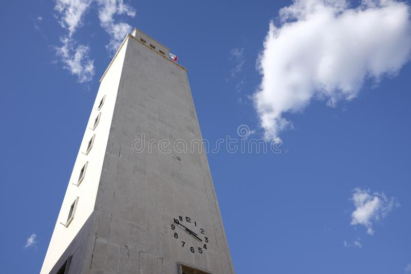 Ратуша Sabaudia стоковое фото rf
