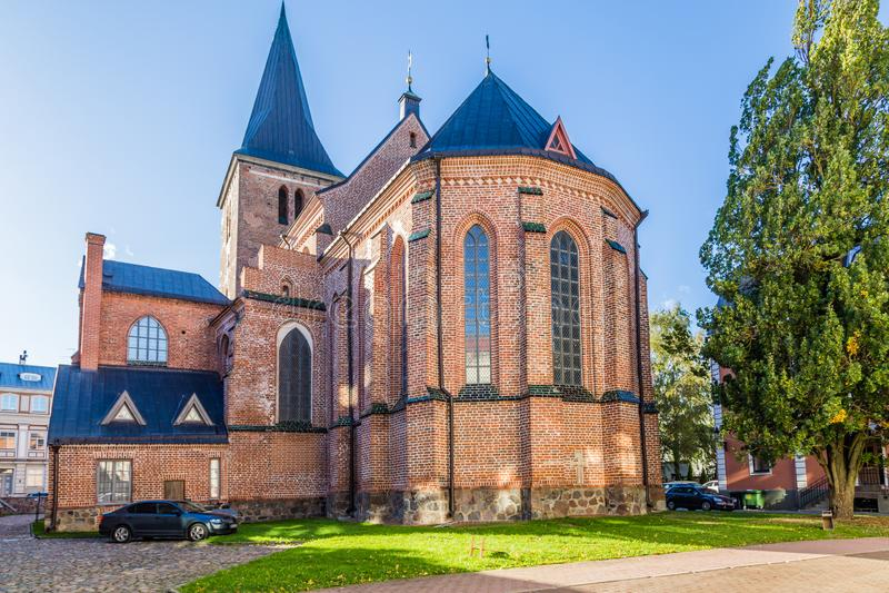 Ратуша Tartu Эстония стоковое фото