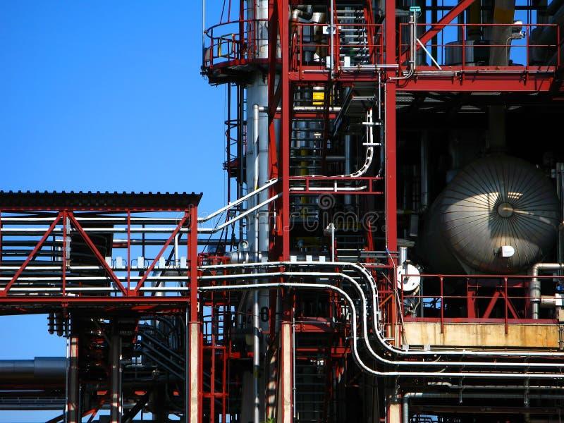 рафинадный завод стоковое изображение rf