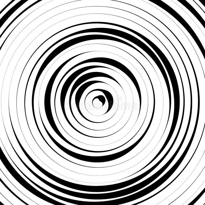 Download Радиальные концентрические круги с солдатом нерегулярной армии, динамические линии Abstrac Иллюстрация вектора - иллюстрации насчитывающей влияние, кругово: 81812667