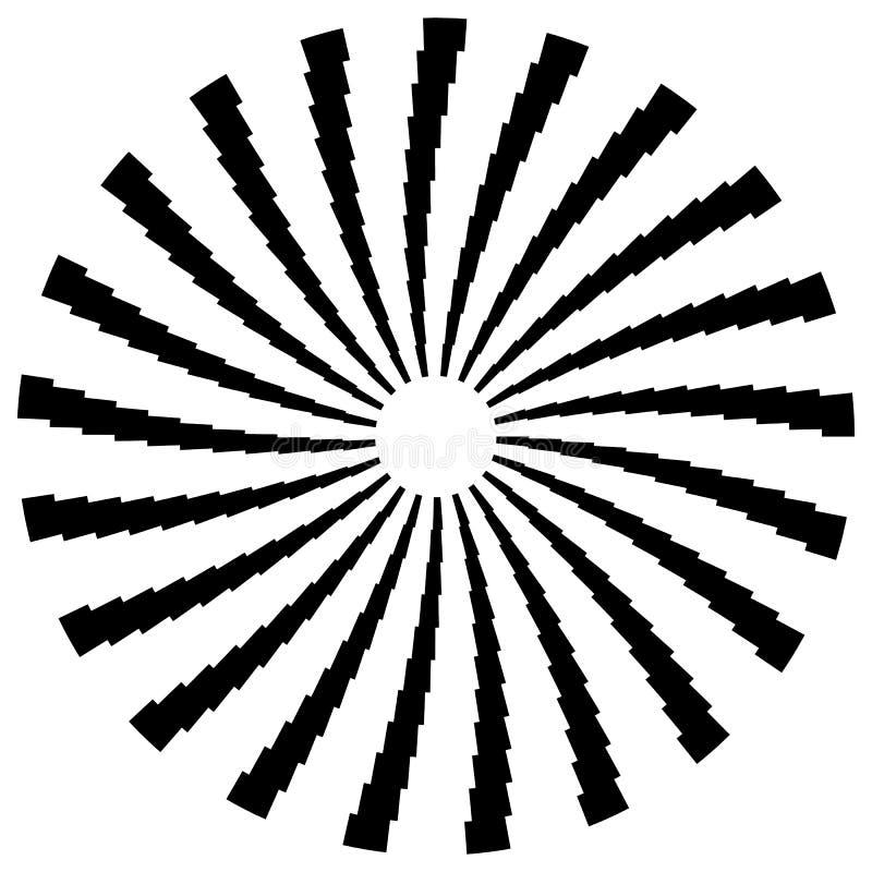 Download Радиальный круговой элемент Геометрические круги прямоугольников Иллюстрация вектора - иллюстрации насчитывающей стечение, круги: 81813938