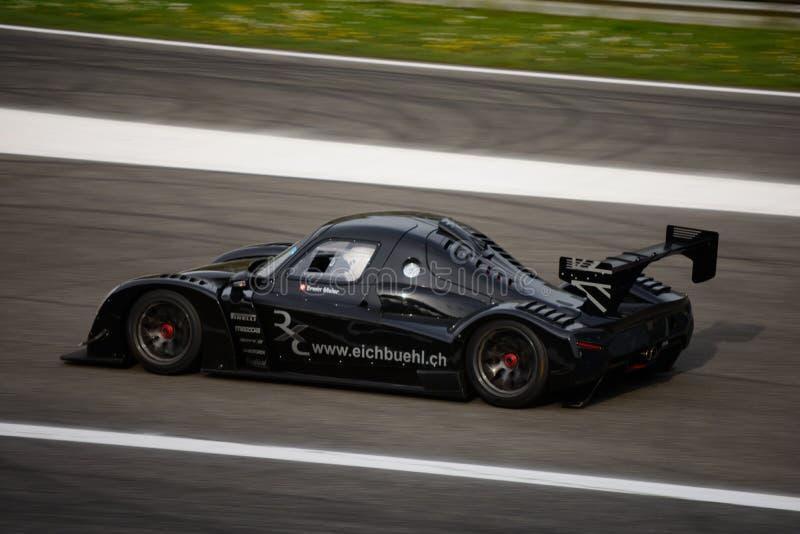 Радикальное испытание автомобиля RXC V8 на Монце стоковое фото